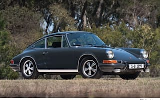 McQueen's Porsche 911 is an RM Auctions Monterey highlight