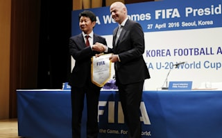 Infantino wants friendly between North and South Korea