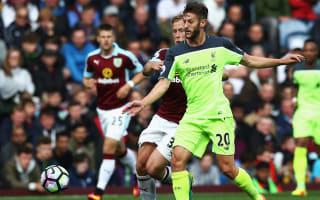 Lallana understands questions over Liverpool displays