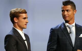 Simeone: Congratulations to Ronaldo, but Griezmann was better last season