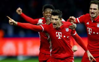 Hertha Berlin 1 Bayern Munich 1: Lewandowski rescues champions with last kick