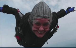 """Better than sex"": Meet the world's oldest skydiver"
