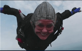 """Better than sex"": Meet the world's oldest skydiver"