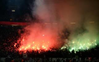 Saint-Etienne facing UEFA rap for Old Trafford flares