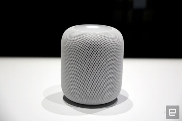 Apple retrasa su altavoz inteligente HomePod al 2018