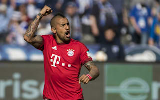 Hertha Berlin 0 Bayern Munich 2: Vidal and Douglas Costa edge champions closer to another title