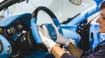 Contempla el impecable proceso de fabricar un Bugatti Chiron