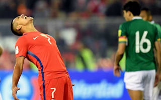 Chile 0 Bolivia 0: South American champions thwarted by visitors