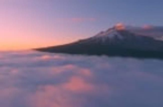 Explore breathtaking scenery above Oregon clouds