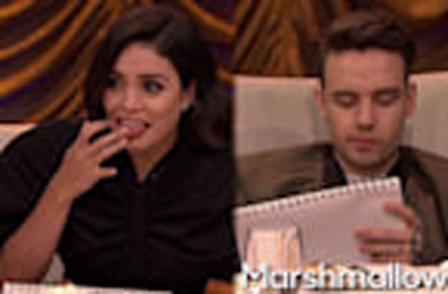 Liam Payne & Vanessa Hudgens Eat GROSS Food On Tonight Show