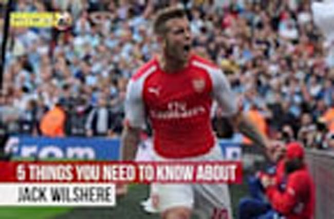 Jack Wilshere - 5 things you need to know