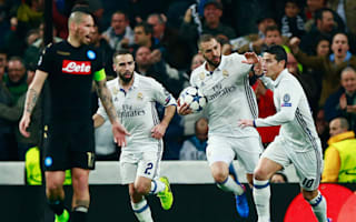 Real Madrid 3 Napoli 1: Benzema makes history as holders roar back to win