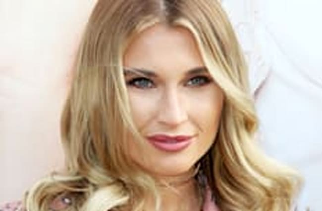 Billie Faiers introduces newborn son and reveals his name