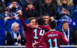 Espanyol 0 Real Sociedad 5: Vela scores stunner in ruthless display