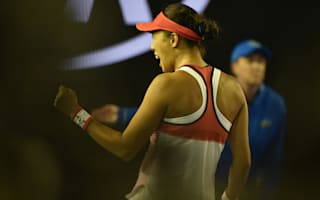 Zhang advances to quarters as fairytale continues