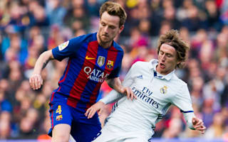 Modric hopes he has to console Rakitic after El Clasico