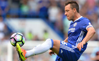 Chelsea skipper Terry back in training