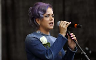 Lily Allen hints at legal action in Twitter row with EDL's Tommy Robinson