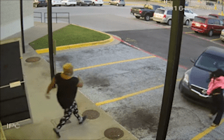 Woman chases after stolen carwith her eight-year-old daughter inside