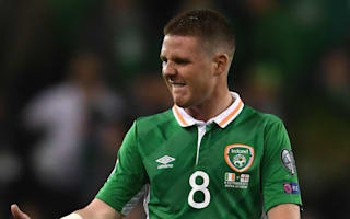 McCarthy among Ireland's injury absentees