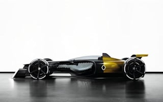 Renault looks into the future with its F1 concept