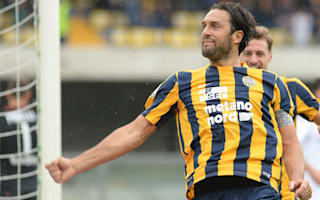 Verona 3 Chievo 1: Toni and Pazzini earn derby bragging rights