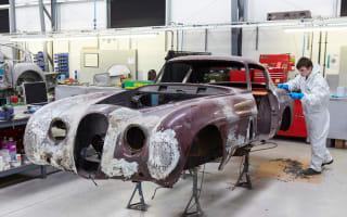 Classic Motor Cars to restore rare XK120 live
