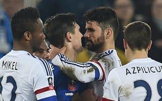 Costa denies biting Barry