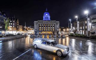 Funeral director commissions Rolls-Royce Phantom hearse