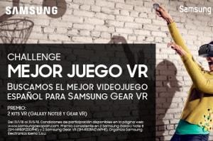 """Samsung Dev Spain anuncia concursazo: """"The Challenge: Mejor Juego VR"""""""