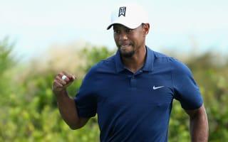 Par-five improvement delights resurgent Woods