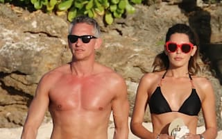 Gary and Danielle Lineker continue swimwear parade on Caribbean holiday