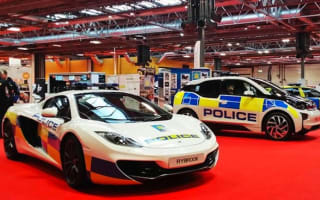 British police display 205mph McLaren 12C at Autosport International show