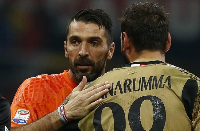 You can define an era - Buffon wishes Donnarumma happy birthday