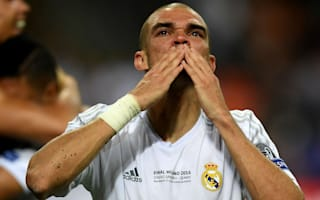 Pepe struggles to explain Champions League tears