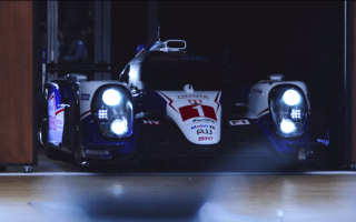 Toyota showcases Le Mans racer by cooking breakfast