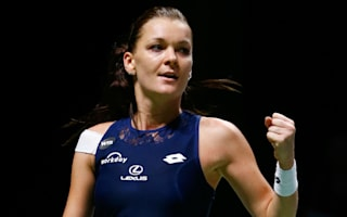 Radwanska remains on course as Bouchard crashes out