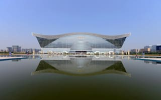 World's largest building opens in China