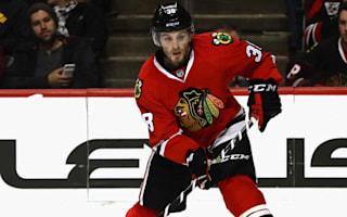 Hartman leads Blackhawks, Blue Jackets edge to win