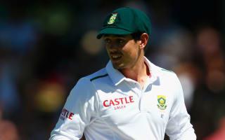 Freak injury rules De Kock out of third Test
