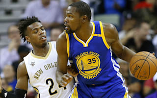 Warriors open account, Westbrook posts triple-double