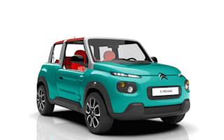 Citroen reveals electric E-Mehari buggy