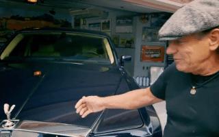 Snoop around AC/DC frontman Brian Johnson's garage