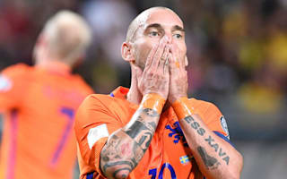 Sneijder admits Netherlands' glory days are over