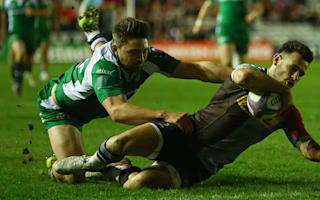 Care treble puts Quins in semi-final, Dragons stun Gloucester