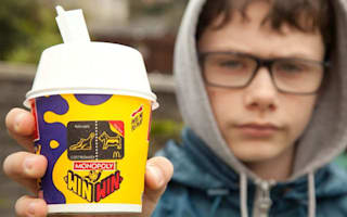 Boy refused free McDonald's McFlurry due to gambling laws