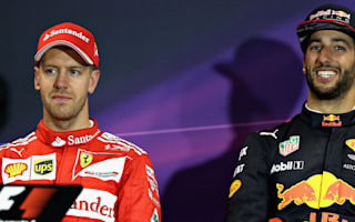 Vettel does not think before he acts - Ricciardo