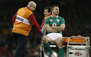 Blow for Ireland's Bowe after suspected leg fracture