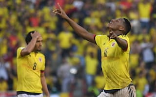 Colombia 2 Uruguay 2: Mina secures draw for hosts in World Cup qualifier