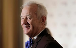 Elusive Bill Murray accepts humour prize after gentle roast